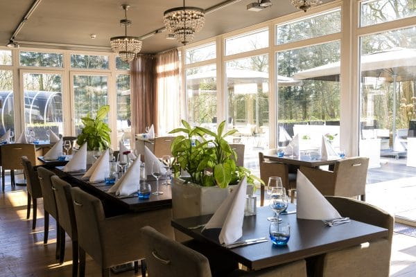 tafels restaurant Fletcher Hotel Amersfoort