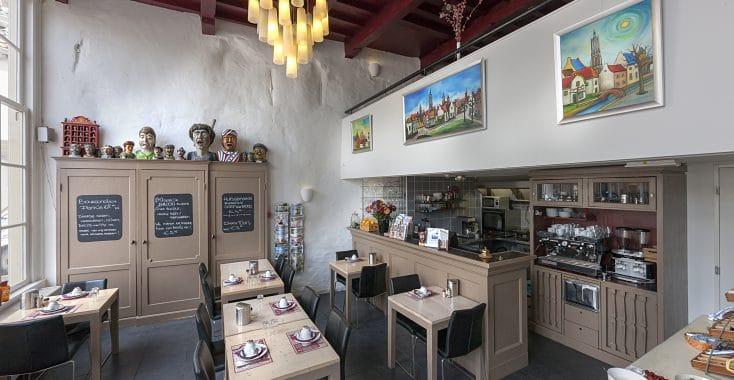 De Gaaper Hotel Amersfoort keuken en tafels