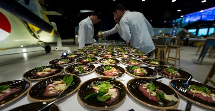 Nationaal Militair Museum catering