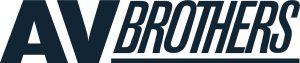AV Brothers logo blauw
