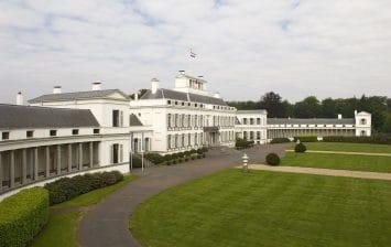 Voorzijde paleis Soestdijk
